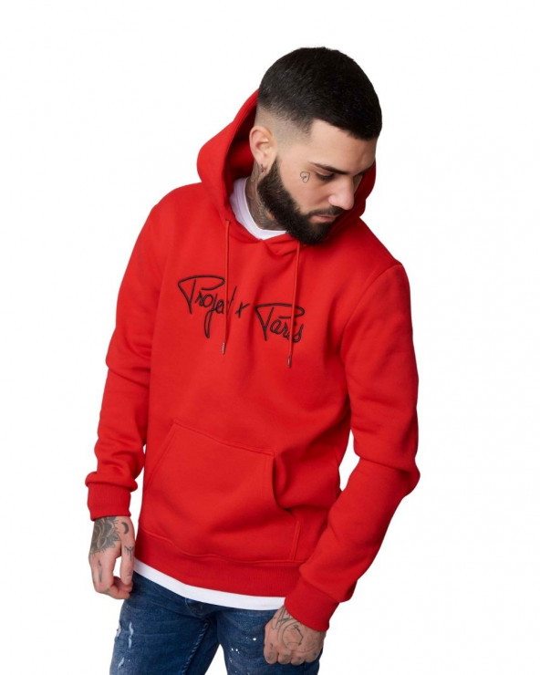Hoodie Pxp Classic Rouge